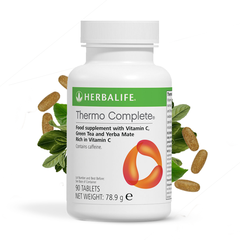 Bottle of Herbalife Thermo Complete