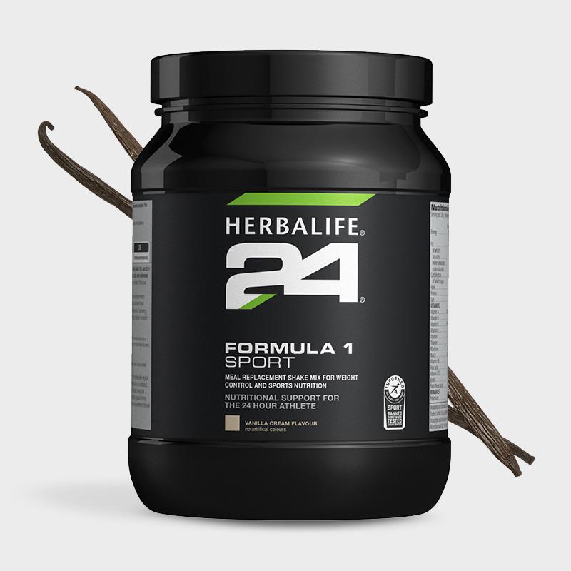 Bottle of Herbalife 24 formula 1 shake