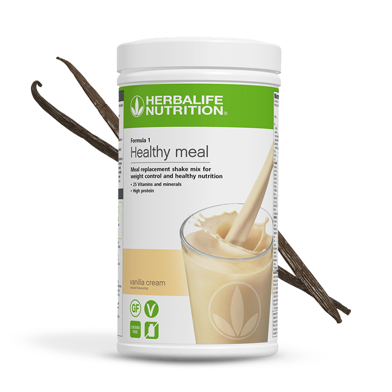 Product image of Herbalife formula 1 healthy meal vanilla cream flavour shake