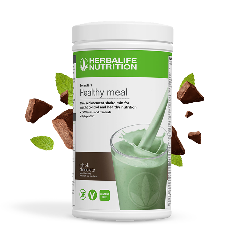 Herbalife formula 1 mint & chocolate product image
