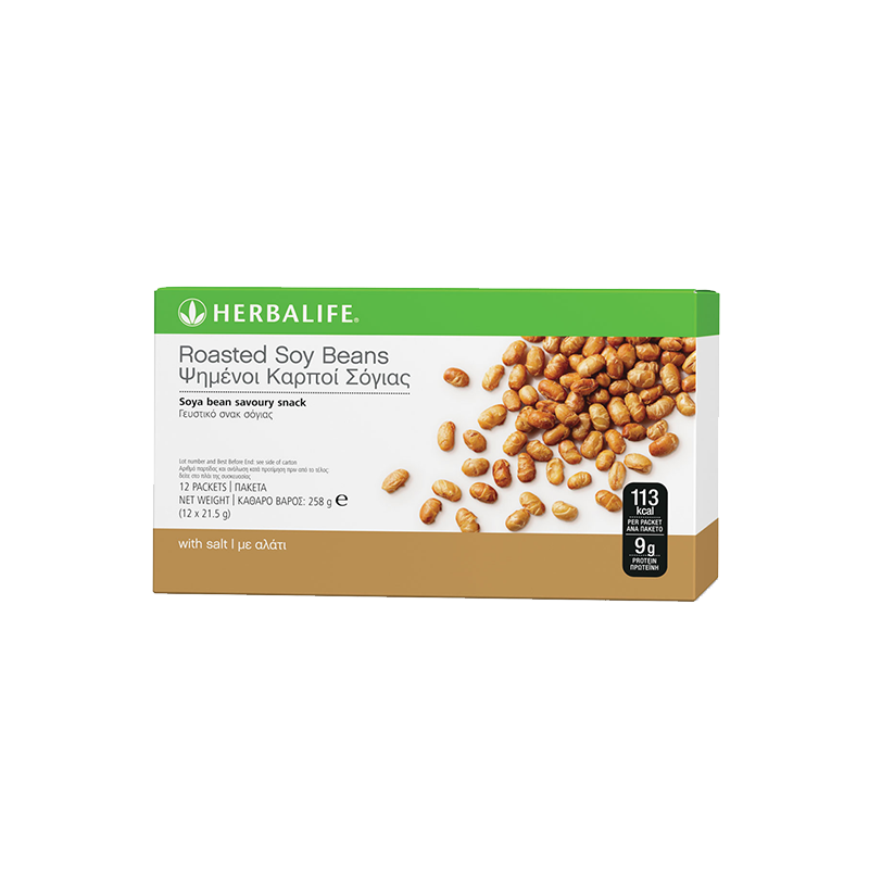 Box of Herbalife Roasted Soy Beans