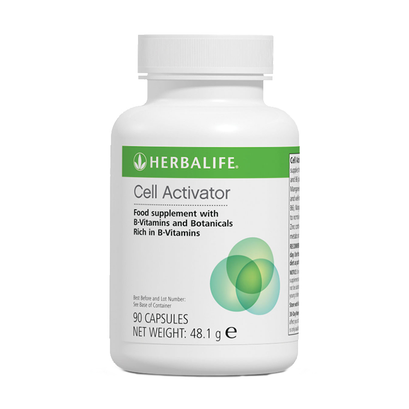 Bottle of Herbalife Cell Activator capsules