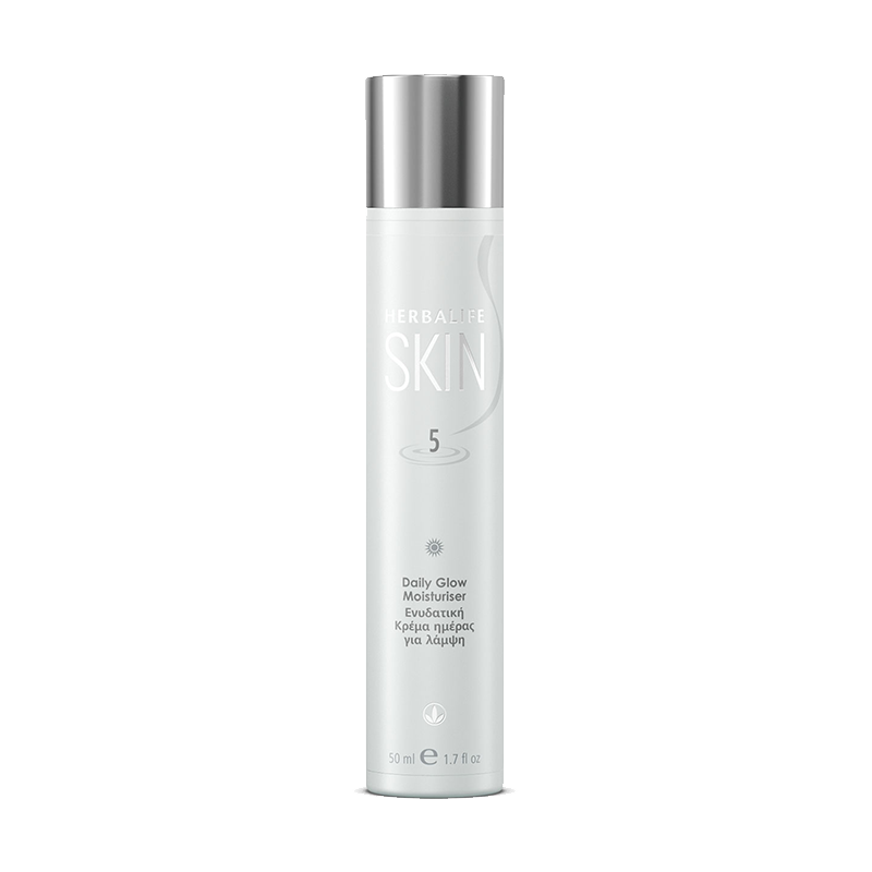 Bottle of Herbalife SKIN Daily Glow Moisturiser