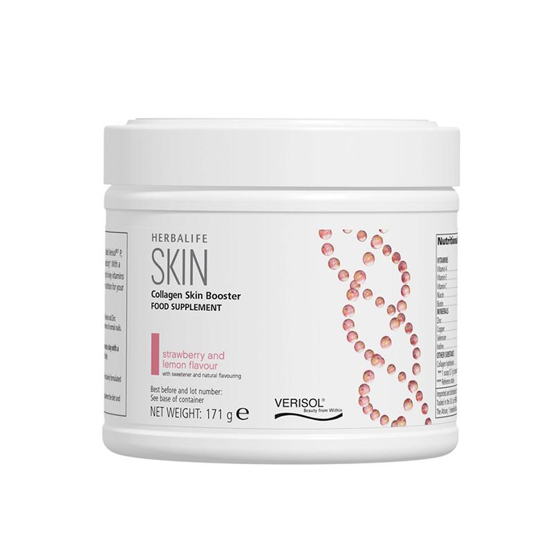 Tub of Herbalife Collagen skin booster