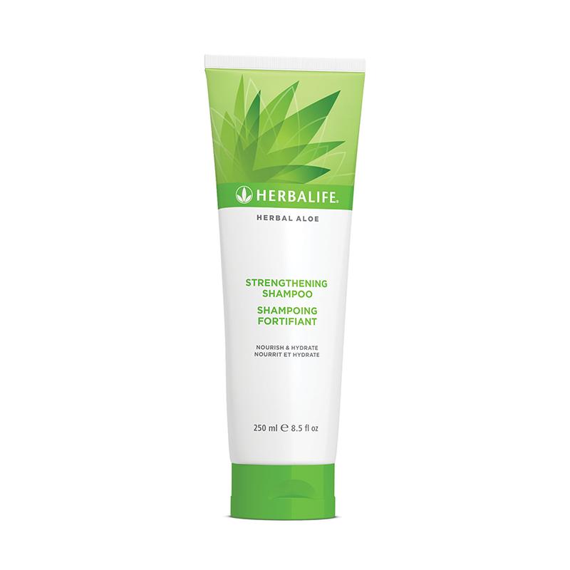 Herbalife aloe shampoo bottle
