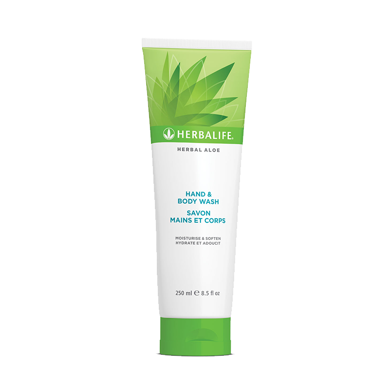 Herbalife hand and body wash bottle